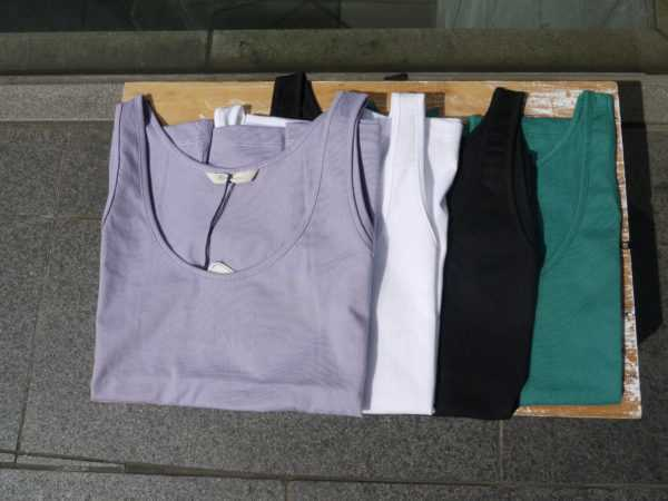 NEW!!! maccaroni 〝Tank Top & T-Shirt〟