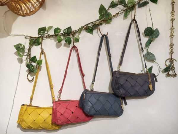 NEW! 18 S/S 〝 TONE製品染め shoulder bag 〟